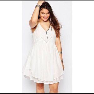 ASOS Layered swing dress